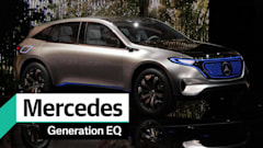 A first look at Mercedes-Benz's Generation EQ concept EV