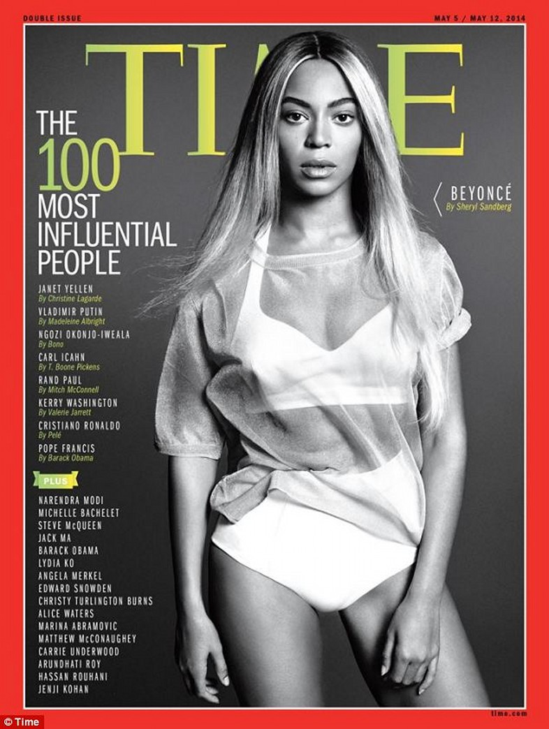 Beyoncé lands cover of TIME's '100 Most Influential People'