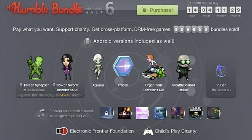 Humble Bundle 6 adds Android to PC lineup: Aquaria, Stealth Bastard