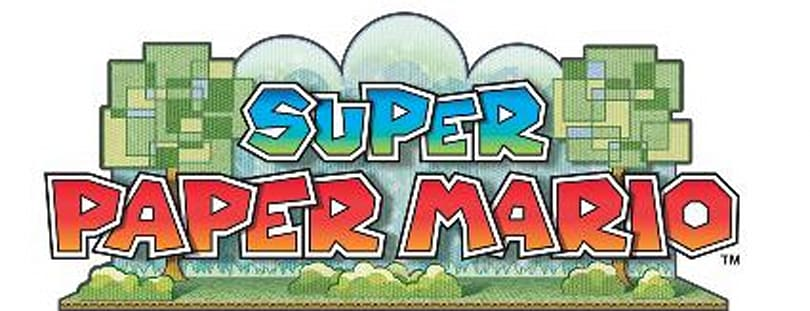 And the Super Paper Mario winner is ...