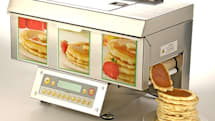 ChefStack automatic pancake machine -- for all your pancake party needs