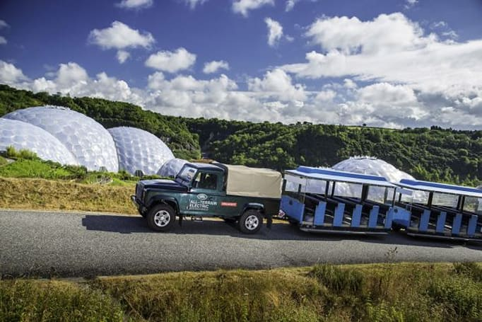 Land Rover taps Eden Project to test all-electric Defender's mettle