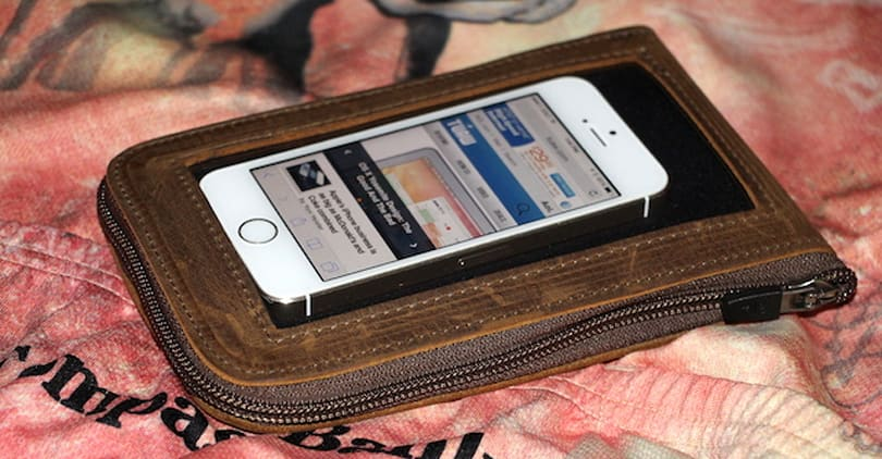 Waterfield Designs Cycling Ride Pouch: Take your iPhone along for the ride