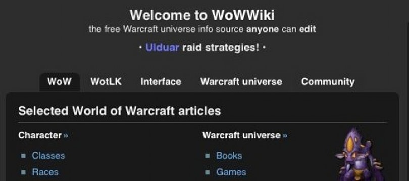 Wikia turns a profit, thanks in part to WoWWiki