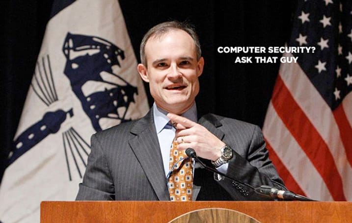White House cybersecurity chief is proud to know nothing about cybersecurity