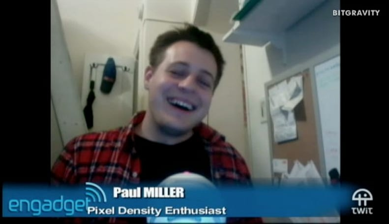 Paul Miller, Pixel Density Enthusiast