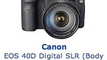 Canon's EOS 40D now shipping
