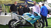 Meet the electric motorcycle that's now the fastest production bike in the world