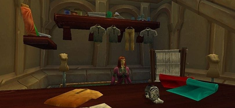 A First Look at Mists of Pandaria Professions: Tailoring