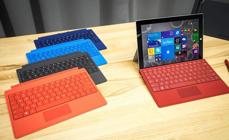 Microsoft's Surface business is still booming