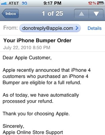 Apple starts refunding Bumper purchases automagically