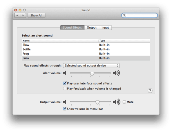 Mac 101: How to disable that annoying volume noise