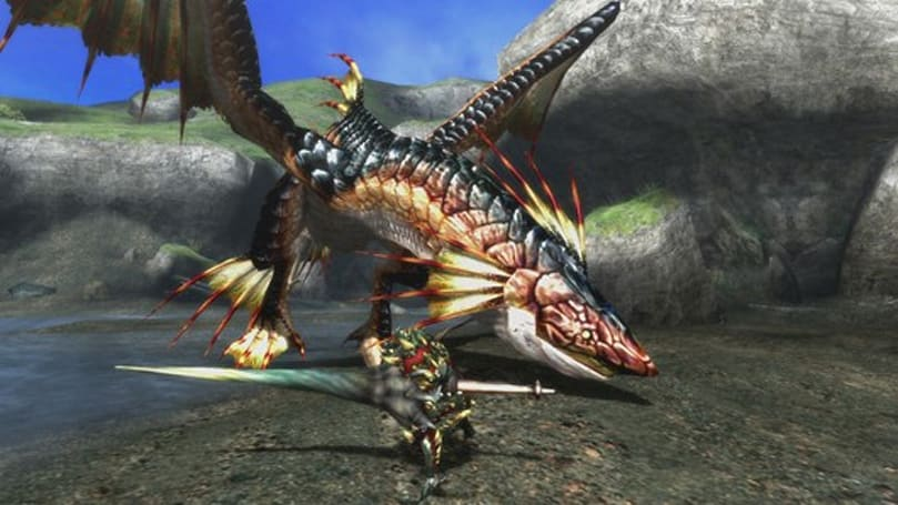 Plesioth returns in latest Monster Hunter 3 Ultimate screens