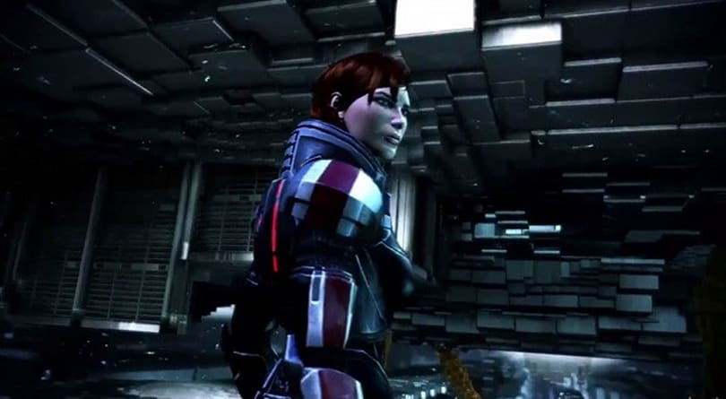 See some stupid alien get curbstomped in the latest Mass Effect 3 trailer