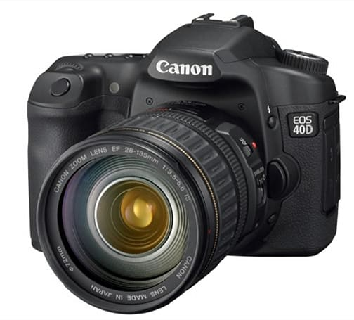 Canon's EOS 40D and EOS 1Ds Mark III get official