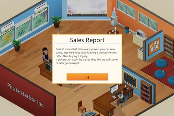 Game Dev Tycoon creator punishes pirates with in-game bankruptcy