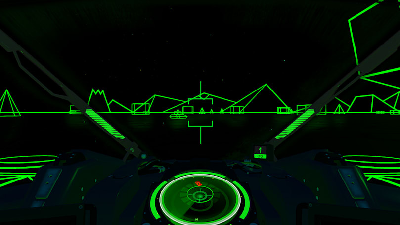 'Battlezone' Classic Mode fulfills the promise of '80s VR