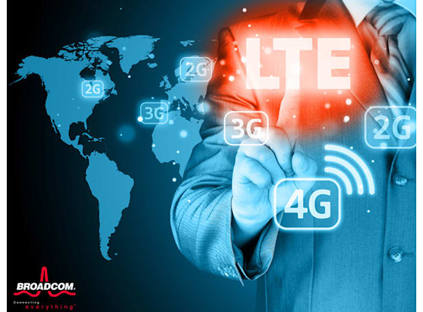 Broadcom's new chips could put fast LTE in your budget smartphone