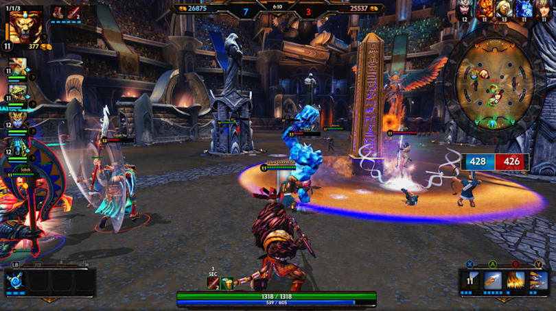 Third-person MOBA 'Smite' finally exits beta, launches on Xbox One