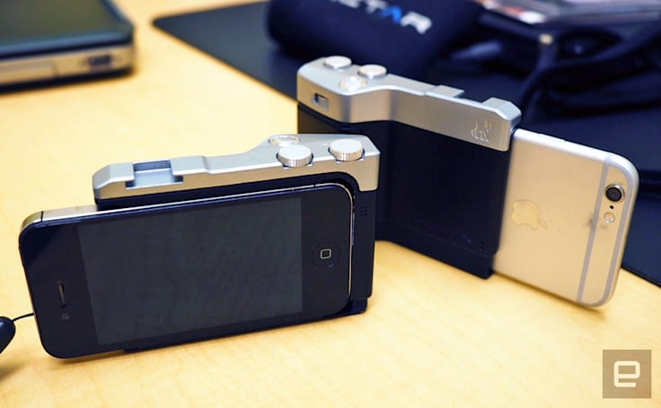 The Pictar brings SLR-style camera controls to (most) iPhones