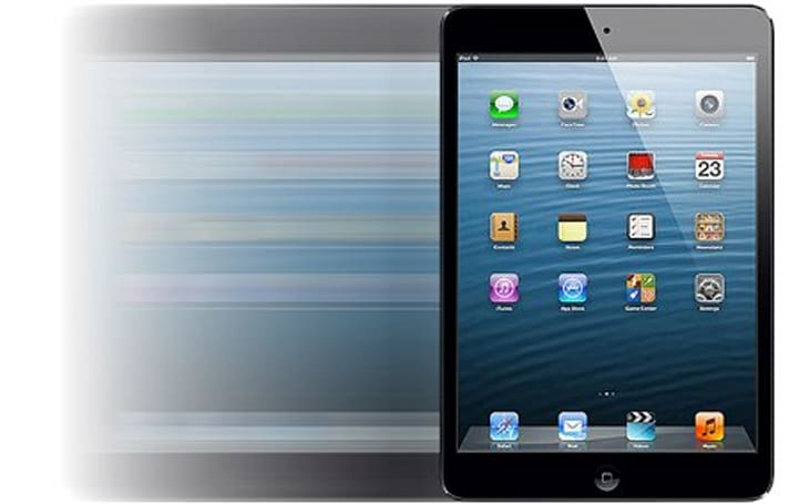 The iPad mini has the fastest touchscreen of all the most popular tablets