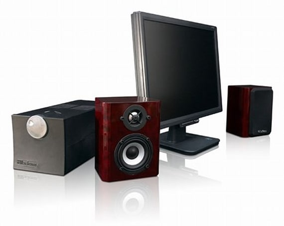 Axiom Audio reveals real-wood PC speakers with plenty of oomph