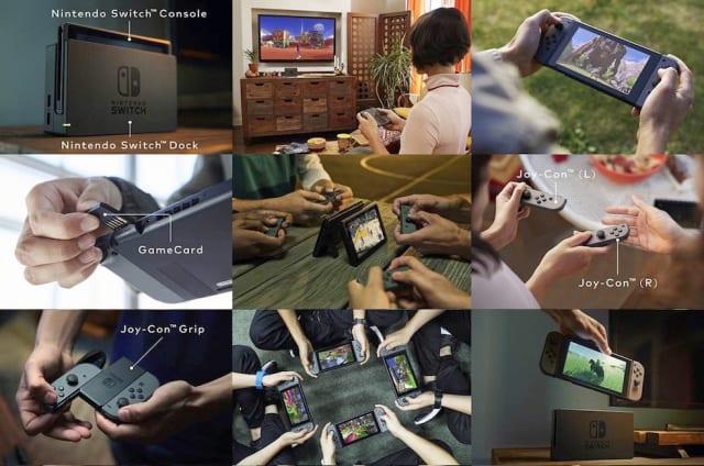 Switch: Nintendos neue Konsole ist ein Handheld (und eine Konsole)