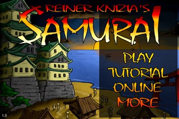 App Review: Reiner Knizia's Samurai app makes it fun to influence Buddhas, peasants and helmets