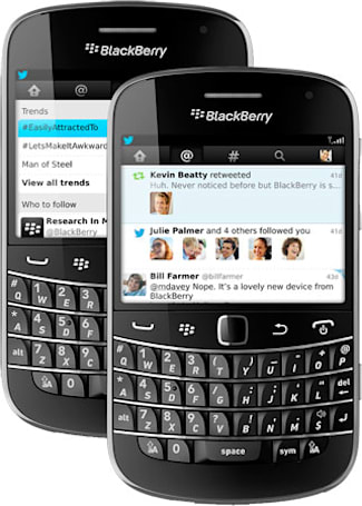 Twitter for Blackberry 4.0 adds Connect tab, more modern UI