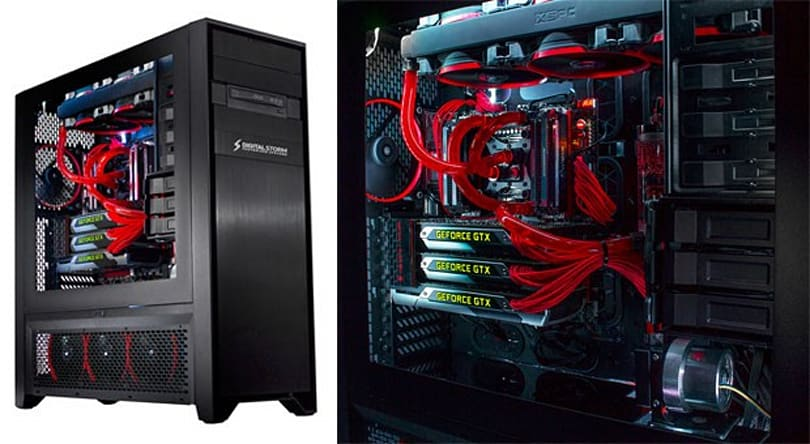 Digital Storm's Hailstorm II relieves you of gaming PC claustrophobia, $2,760 cash