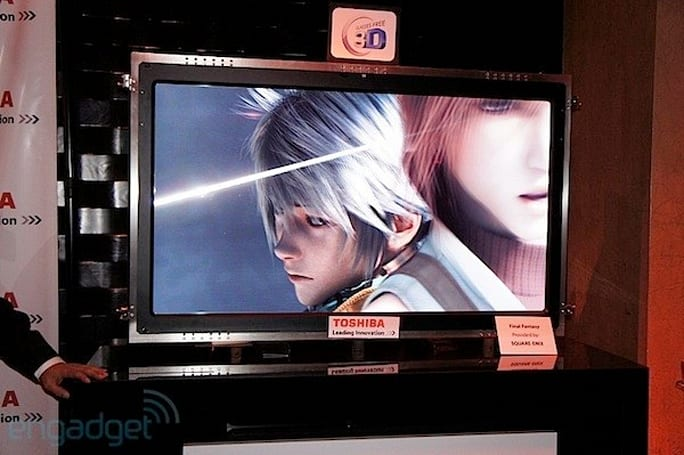 Toshiba's 55-inch 4K glasses-free 3DTV ships in the US early this year, can we borrow $10k?