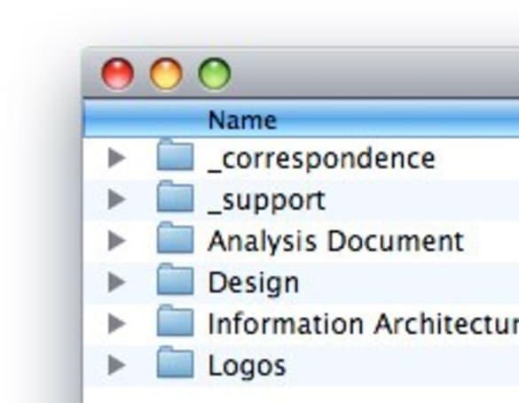 Mac 101: Finder filename sorting