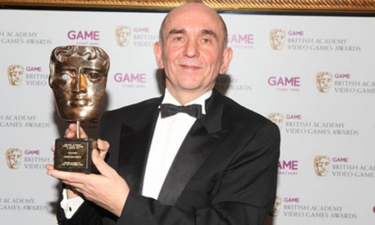 Following Fable 3 disappointment, Molyneux bounces back with BAFTA award