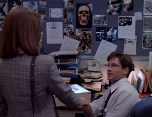 FBI finally goes digital, Mulder and Scully start throwing out the filing cabinets