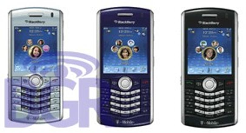 T-Mobile to get BlackBerry Pearl 8120 in new colors?