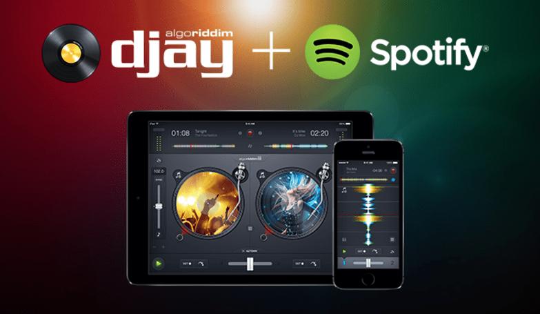 Moonlight as a DJ using Spotify tracks and an iPad