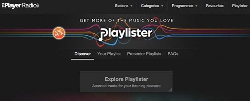 BBC Playlister web app launches today as an open beta