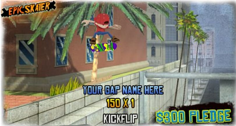 Former Neversoft and Tony Hawk developers trying to Kickstart 'Epic Skater' for iOS/Android