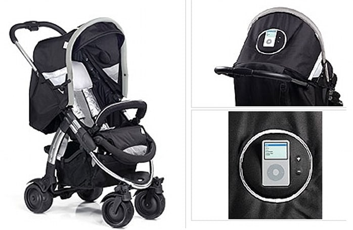 i'Coo baby stroller Made for iPod