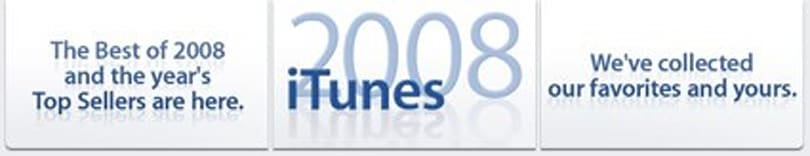 iTunes shows off the best of 2008