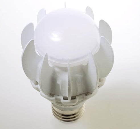 GE's 27-watt LED replacement for 100-watt incandescent bulbs set to light up our lives next year