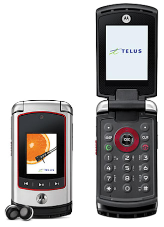 Motorola's rough and rugged V750 now available on Telus