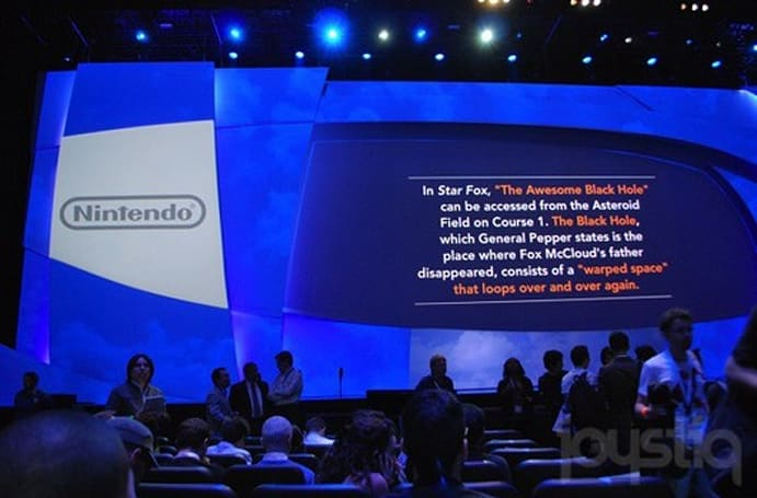 Nintendo E3 2011 keynote, live from the Nokia Theater