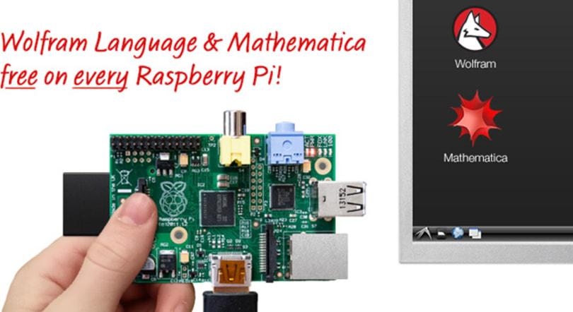 Raspberry Pi becomes a math teacher through new Wolfram bundle