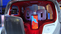 Up close with the Ford Airstream's 360-degree TV