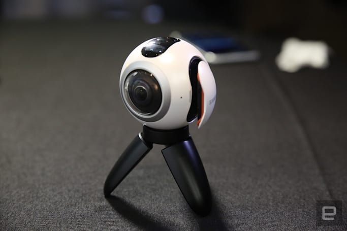 Samsung's 360-degree camera will arrive on April 29th