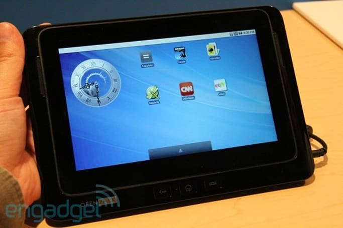 OpenPeak's OpenTablet 7 sails towards a Q1 2011 AT&T launch with Android 2.2 on board
