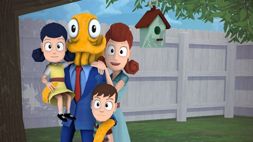 You get a limb and you get a limb in Octodad: Dadliest Catch co-op