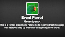 Twitter's Event Parrot claims to be an experiment in breaking news alerts (update: confirmed)