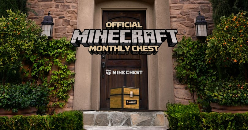 'Minecraft' gets its own official monthly swag box